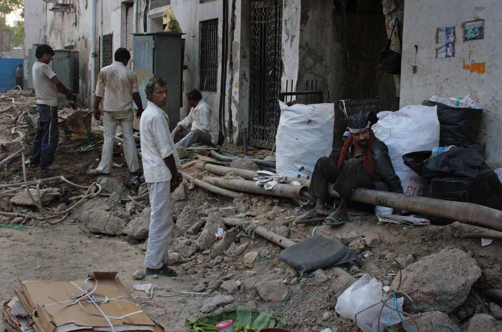 Delhi construction